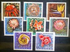 POLAND-STAMPS MNH Fi1689-96 SC1577-84+B111-2 Mi1836-43 - Flowers, 1968, clean