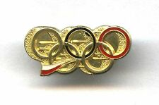 Polish Olympic NOC pin 2nd Tier badge POLAND PKOL used Sochi 2014 London 2012