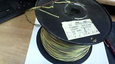 10 ft coi Western Electric CLOTH,covered 22ga triple (3-wire regular insulation)
