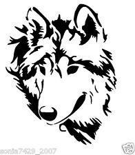 TrIbal Wolf Decal VINYL STICKER Funny WINDOW CAR