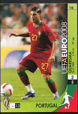 Football Card - Panini UEFA Euro 2008 - No 118 - Portugal - Quaresma