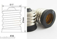1pc LED Light Bulb Lamp Converter E17 Male To E12 Female Candelabra Socket New