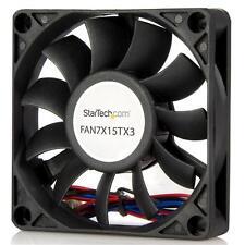 Startech 70x15mm Replacement Ball Bearing Computer Case Fan w/ TX3 Connector