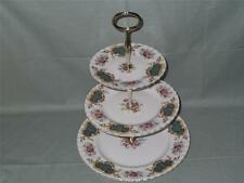 Royal Albert Berkeley 3-Tier China Cake Plate Stand