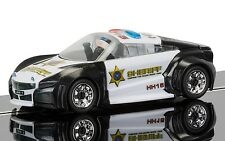 C3709 Scalextric Quick Build - Police Car Black/White - New & Boxed