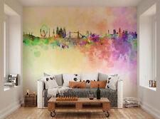 ohpopsi Horizon De Londres En Peinture a l' eau Décoration Murale