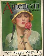 THE AMERICAN Magazine October 1923 SEVEN WAYS TO IMPROVE YOUR MEMORY