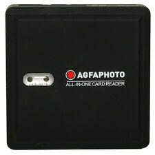 """AGFA 73-in-1 Card Reader f/ SD/HC, Micro SD, CF, XD, MS/Pro Duo and SIM Cards"""