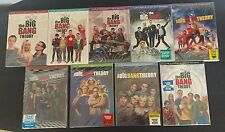 The Big Bang Theory Seasons 1-9 DVD 1,2,3,4,5,6,7,8,9 - Brand New * Ships Fast *