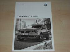 47644) VW Polo 9N GT Rocket - technische Daten & Ausstattung - Prospekt 06/2008