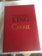 CARRIE LIMITED TRAYCASED HARDCOVER SIGNED & LIMITED CEMETARY DANCE STEPHEN KING