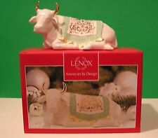 LENOX Nativity FIRST BLESSING OX sculpture NEW in BOX 1st Quality