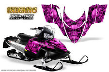POLARIS SHIFT RMK DRAGON SNOWMOBILE SLED GRAPHICS KIT CREATORX WRAP INFERNO P