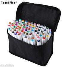 TouchFive Colors Graphic Art Twin Tip Pen Marker  ARCHITECTURAL DESIGN 80 COLORS