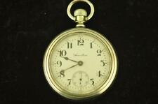VINTAGE 18 SIZE HAMILTON 21J GRADE 940 POCKET WATCH DISPLAY BACK FROM 1904
