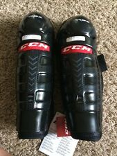 "CCM Shin Guards Junior RBZ 110 JR Size 11"" New With Tags"
