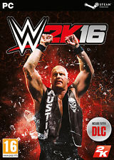 WWE 2K16 (Wrestling 2016) PC IT IMPORT TAKE TWO INTERACTIVE