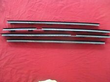 97-03 BMW 525 528 530 540 M5 E39 Interior Door Panel Chrome Trim Set of 4 OEM