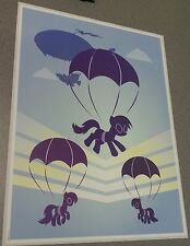 Licensed MLP My Little Pony 2 sided Poster - Summer Sun - Skydiving Cutie Marks