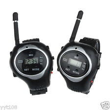 2PCS Funny Toy Walkie Talkie Watches Interphone Outdoor for Kids Children New