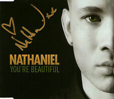 NATHANIEL You're Beautiful SIGNED CD Single *Brand New* Autographed Willemse You