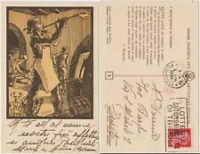 FEDERAZIONE FASCISTA AVT.ARTIGIANI D'ITALIA - MURANO - P.MORBI (VENEZIA) 1939