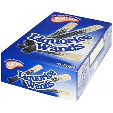 BARRATTS LIQUORICE WANDS FULL BOX  75 SWEETS