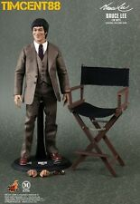 Ready! Hot Toys MIS 11 Bruce Lee In Suit Version 1/6 Figure NEW