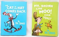 Cat in the Hat Comes Back + Mr Brown Can Moo Dr Seuss's Learn to Read Beginners