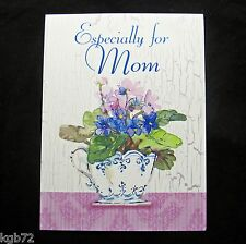 Leanin Tree Birthday Mom Greeting Card Flowers Love Mother Multi Color R58