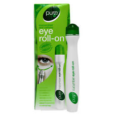 New pure cucumber caffeine eye roll-on soothe tried skin and reduce eyebag 15ml