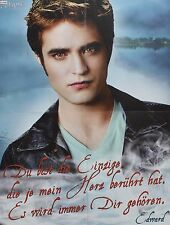 ROBERT PATTINSON - A2 Poster (XL - 42 x 55 cm) - Twilight Clippings Sammlung NEU