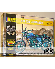 HELLER 1/8 NORTON COMMANDO BIKE MODEL KIT