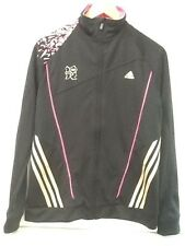 2012 London Olympic Jacket Adidas Climacool Black Womens Size Medium NWT