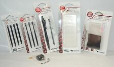 NEW Subsonic Nintendo DSi Screen Protector + 9 Stylus + 6in1 Game Case Video Lot