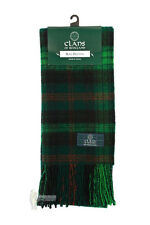 PURE NEW WOOL TARTAN CLAN SCARF - ROSS HUNTING