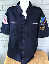 ARP Texas Firefighter ECA Wilson Propper Button Rescue XL Shirt Heavy Uniform