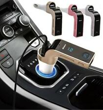 Car Kit Wireless Bluetooth FM Transmitter Modulator USB SD MP3 Player LCD Screen