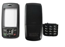 COVER HOUSING COMPATIBILE per SAMSUNG SGH E250 NERA CON TASTIERA