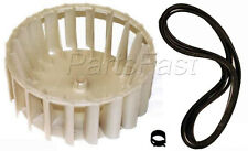 MAYTAG DRYER BLOWER WHEEL AND BELT (SEE MODEL FIT LIST)