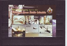 ANTIGUA - SG4005-4010 MNH 2006 SHEETLET 1st FLIGHT SPACE SHUTTLE COLUMBIA