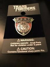 Transformers NEST Global Alliance Universal Studios Pin