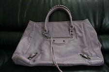 NWT Balenciaga Classic Sunday Large Tote Bag Purple