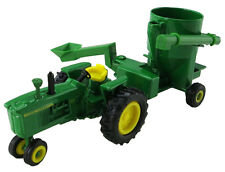 John Deere 4010 Narrow Front Tractor With Grinder Mixer 1:64  Ertl 2015 #45468