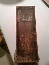 Holy Bible. 1st American Edition Bible Society. 1819. Philadelphia. Scarce