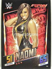 Slam Attax Then Now Forever - #102 Naomi