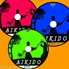 YOSHINKAN AIKIDO VIDEO FULL 3 DVD SET SIMPLE TO FOLLOW STEP BY STEP LESSONS NEW
