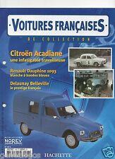 VOITURES FRANCAISES HACHETTE FASCICULE N°108 CITROEN ACADIANE 1978