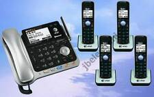 AT&T TL86109 2-LINE DECT 6.0 PHONE SYSTEM - BLUETOOTH - 4 CORDLESS - BRAND NEW