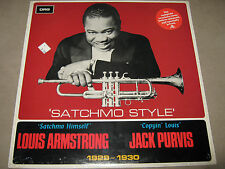 LOUIS ARMSTRONG & JACK PURVIS Satchmo Style LP Swing DRG SW 8451 FACTORY SEALED